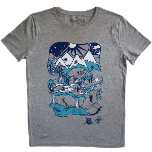 Dewerstone X Save Our Rivers - HEATHER GREY